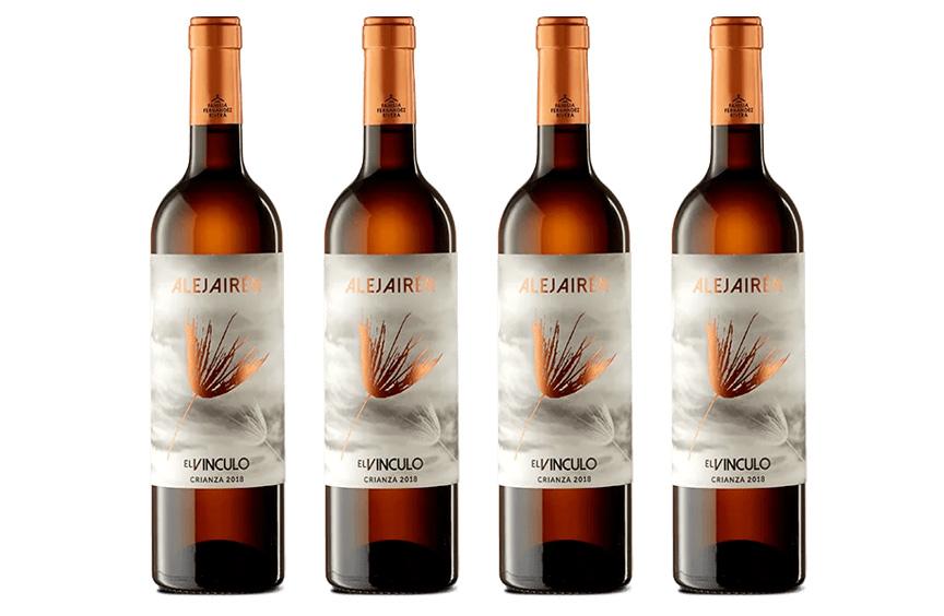 Oferta caja de 4 bootellas vino Alejairén